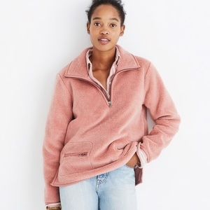Madewell Sherpa Fleece jacket L pink